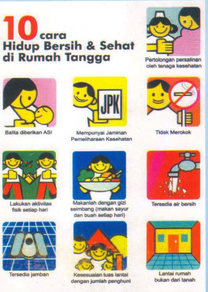bidanrianasudibyo: Perilaku Hidup Bersih dan Sehat (PHBS) di Rumah Tangga