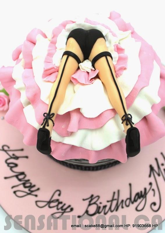 Birthday Cakes Singapo... Naughty Cakes For Hen Party