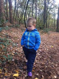 Nathan 2 jaar 11 maanden.