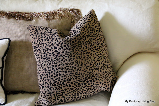 decorating with leopard