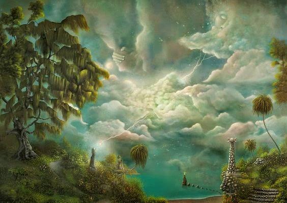 paisajes surrealistas