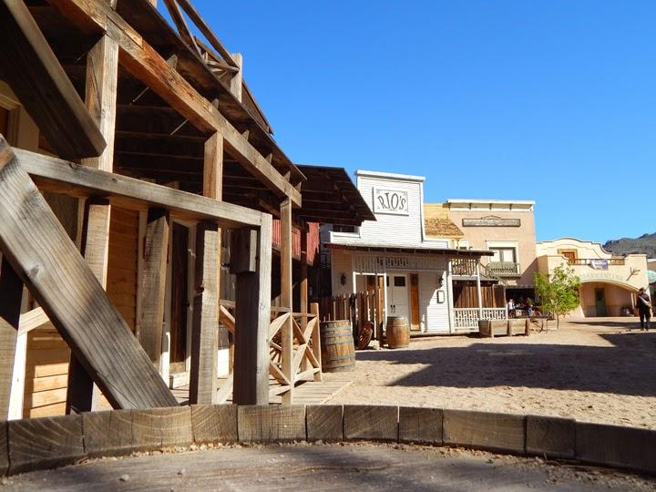 Old Tucson Studios town