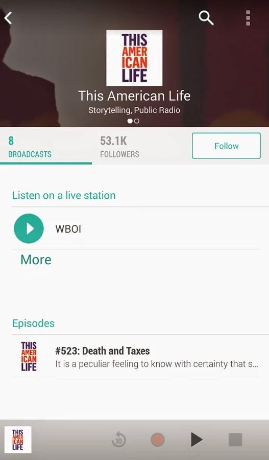 TuneIn Radio Pro v12.7.3