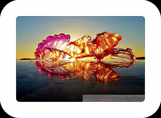 Abstract Photo 3222 Crystal Landscape 169  United by the same sun  - Unidos por un mismo sol