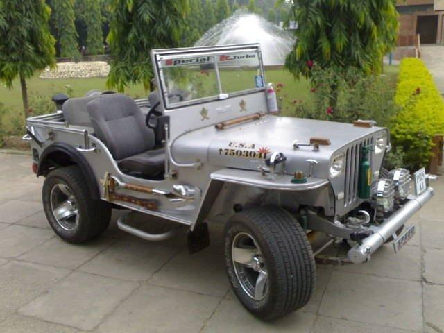Modified Willys Jeep