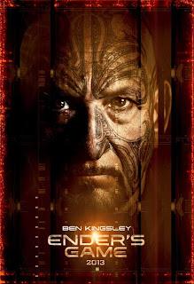 Ender's Game character poster - Ben Kingsley
