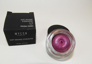 WYCON Soft Mousse Eyeshadow 17 Prugna Chiaro