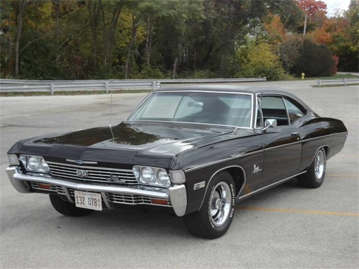 Chevrolet impala 1965 1970 muscle cars