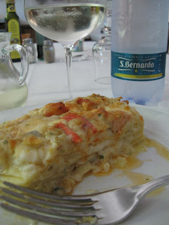 Lasagna di mare del Tirreno