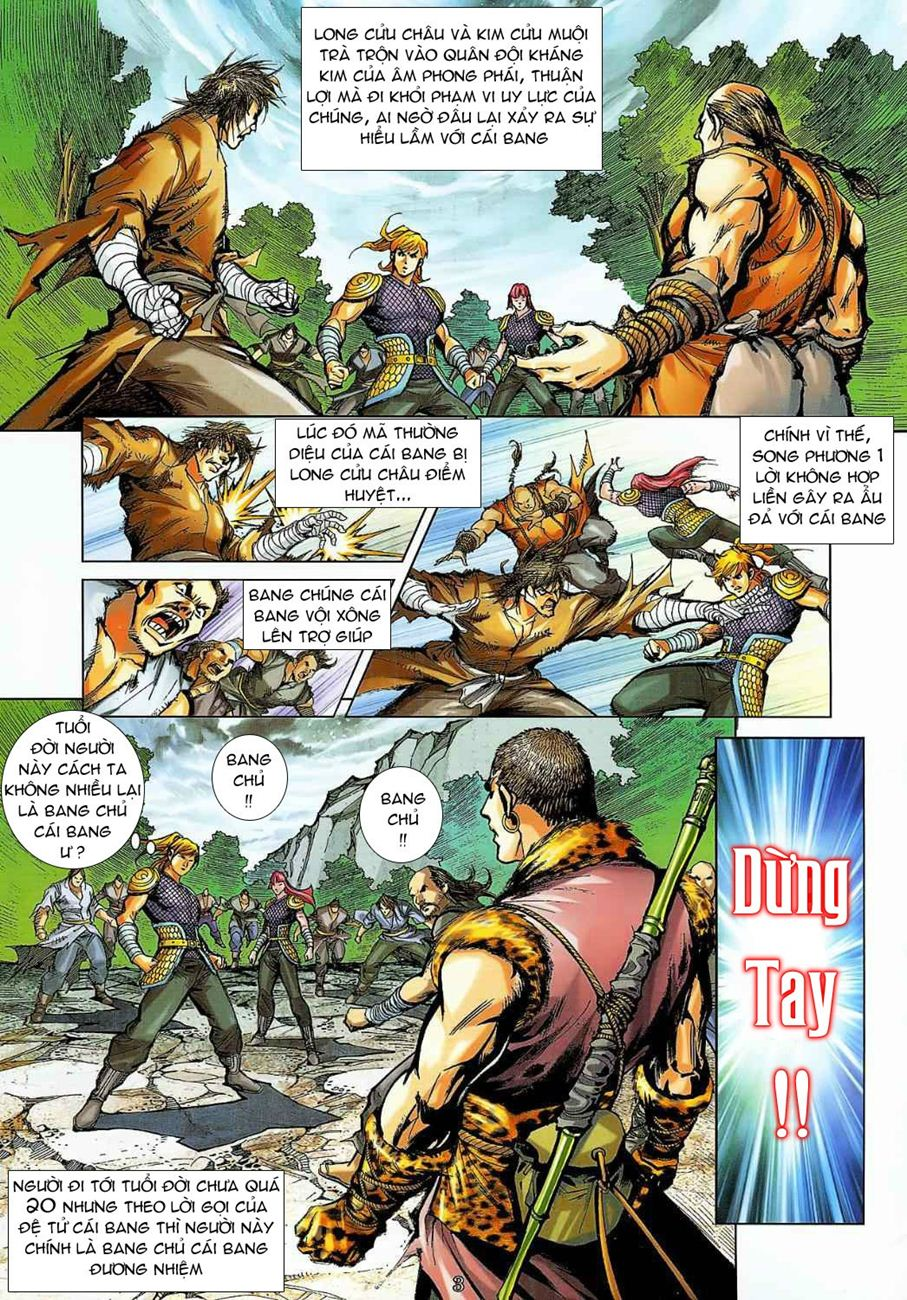 Thần Chưởng Long Cửu Châu chap 8 - Trang 3