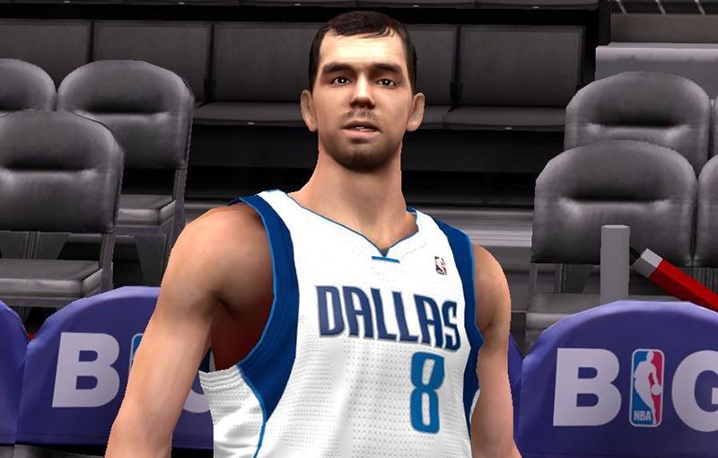 NBA 2K14 Jose Calderon Face Mod