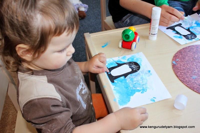 Тематическое занятие Атарктида -Пингвины