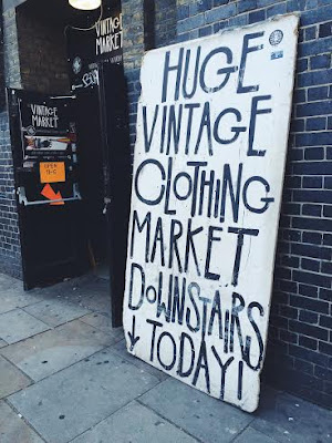 shoreditch vintage clothing market london east blog blogger fashion clothes