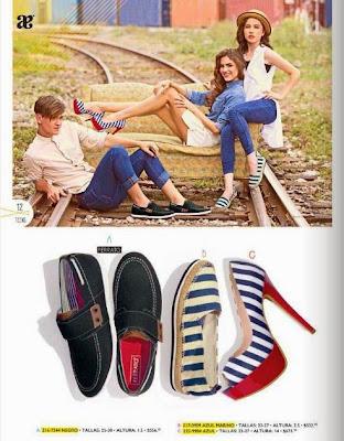 Zapatos para el y ella verano 2015