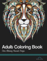 Coloring Book: Stress Relieving Animal Designs