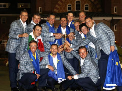 2012 Ryder Cup Winners, Team Europe