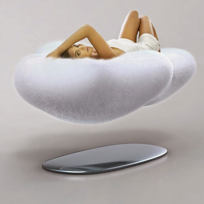 Floating Cloud Sofa, Cool furniture tricks, Optical illusions furniture for inspiration