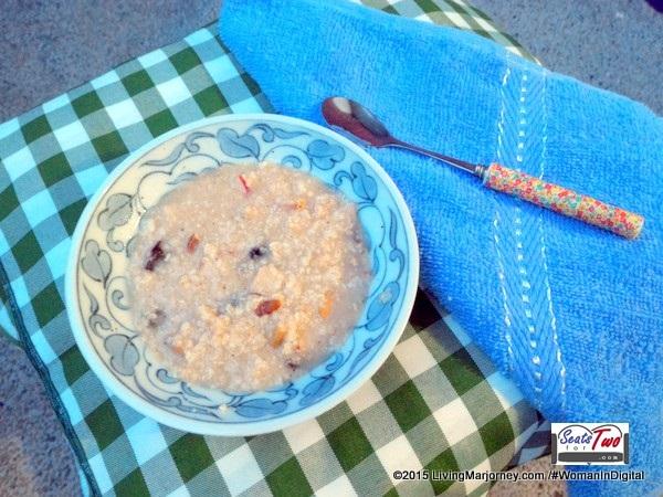 My oatmeal breakfast
