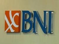 Lowongan Kerja Bank BNI Bulan Januari 2016