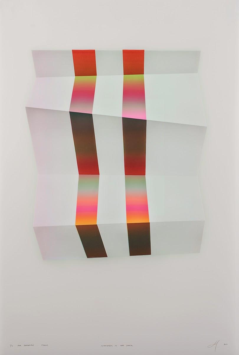 screen-printing, technique, color, gradient, form, simple, minimal