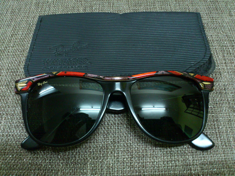 (SOLD)Ray Ban Wayfarer II US Olympic Series G-15 Lenses(SOLD)