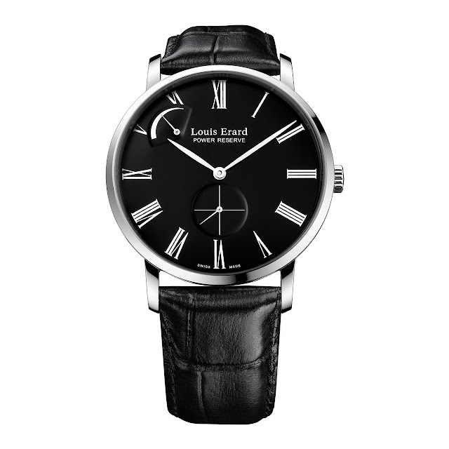 Louis Erard Excellence Régulateur Réserve de Marche Watch black dial