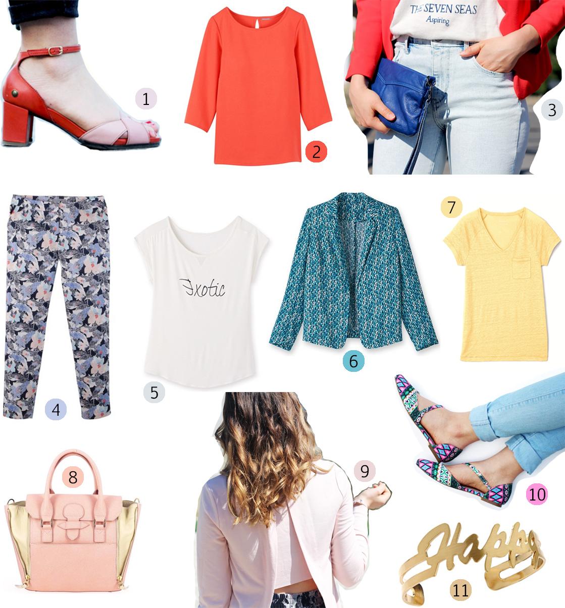 Sélection shopping Soldes printemps été 2015