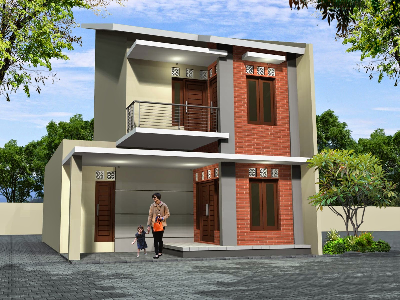 Gambar Rumah Idaman Sederhana 2 Lantai