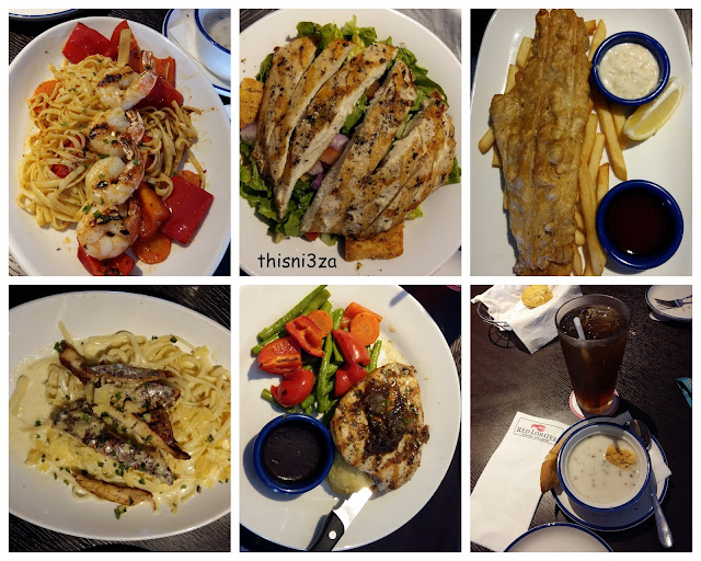 Farewell Lunch : Red Lobster The Intermark