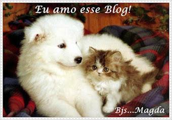 Ganhei da querida Magda do Blog Respeite e proteja os animais