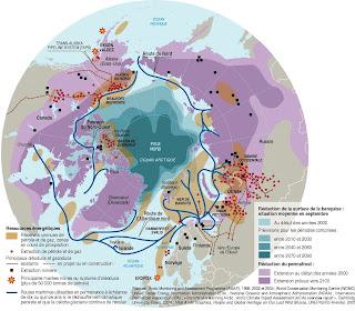 nouvelles routes maritimes de la zone Arctique