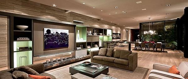 casa contempor nea en california indulgencia y vitrinas con estilo cocinas modernass. Black Bedroom Furniture Sets. Home Design Ideas