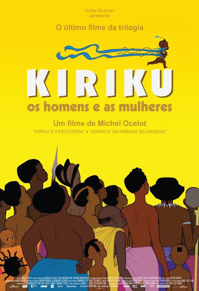 Kiriku: Os Homens e as Mulheres – Legendado (2012)