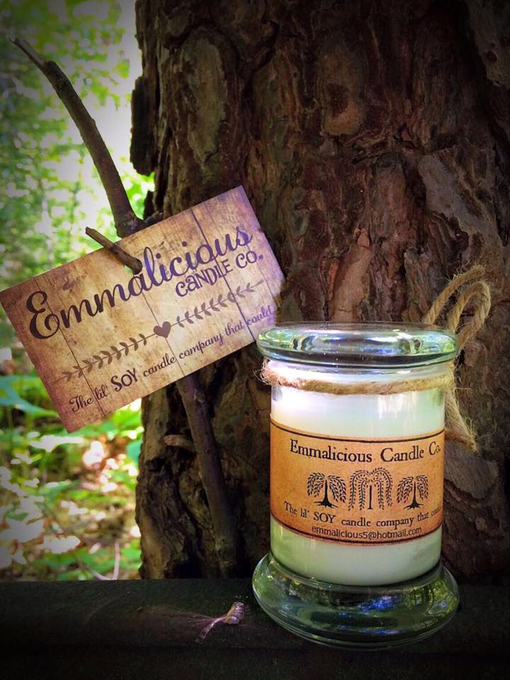 All natural soy candles, hand poured. Succulent smelly's homemade for you!