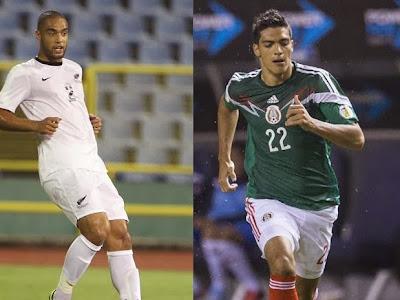 Mexico vs Nueva Zelanda