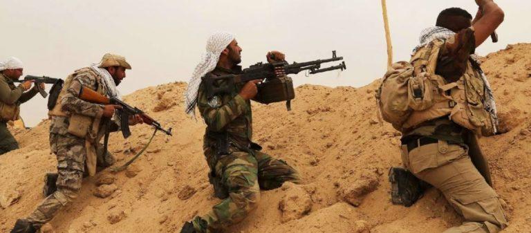 Σπάνιο βίντεο στην δημοσιότητα: Συγκρούσεις του ιρακινού Στρατού με τζιχαντιστές του ISIS