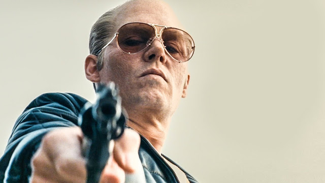 "Johnny Depp stars as Whitey Bulger in ""Black Mass"""