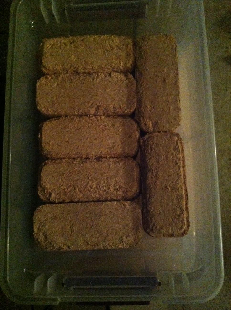 Compressed Wood Bricks ~ Wood brick fuel lookup beforebuying