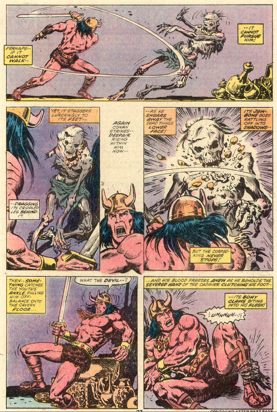 Conan the Barbarian (1970) Issue #92 #104 - English 16