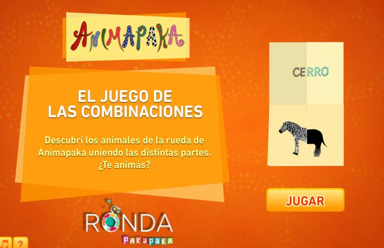 COMBINA Y CREA  TUS ANIMALES