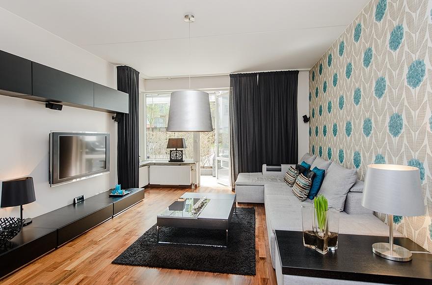Decoraci n f cil un elegante apartamento en estocolmo - Apartamentos en estocolmo ...