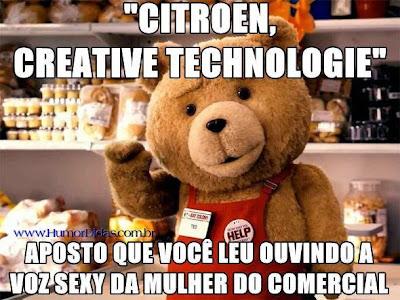Imagens do Ted para postar no Facebook