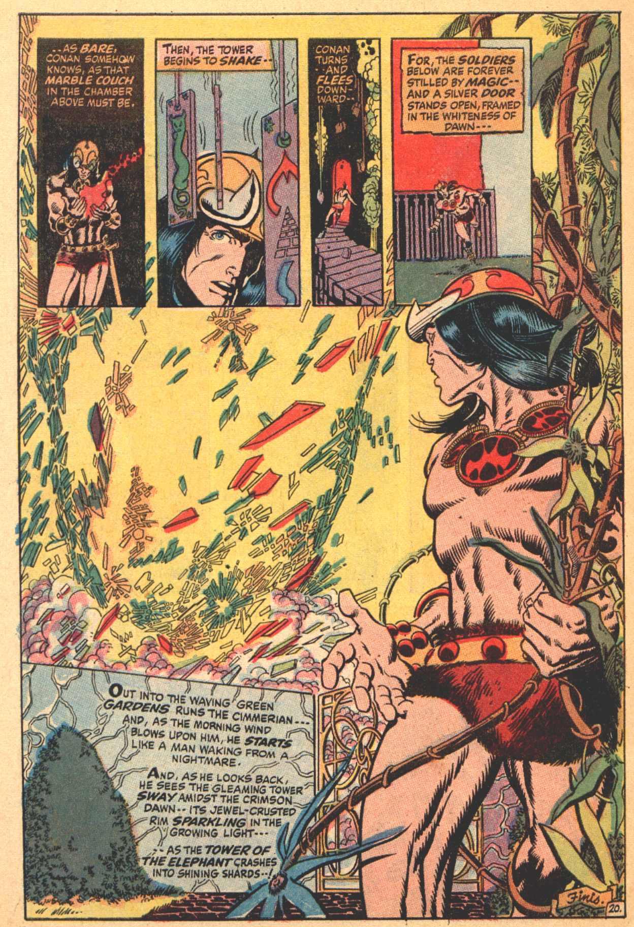 Conan the Barbarian (1970) Issue #4 #16 - English 21