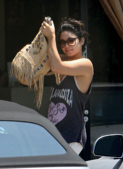 Vanessa Hudgens - Running Errands in Los Angeles