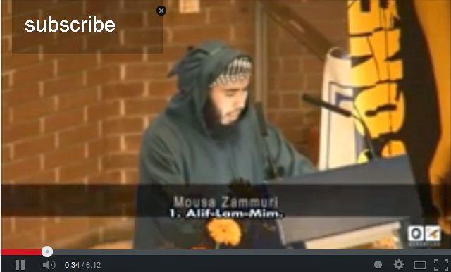 Touching Recitation! Ankebut Belgium Ex-Prisonnir of guantanamo Musa Zamuri.