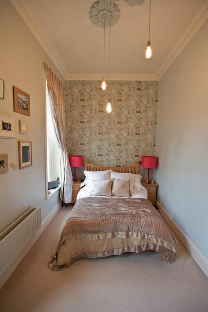 Decoração quartos de casal muito pequenos