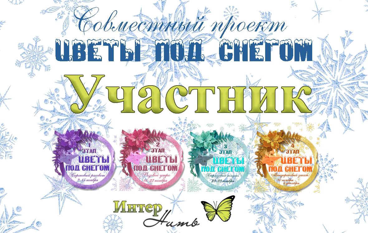 """СП """"Цветы под снегом"""" от ИНТЕРНИТИ"""