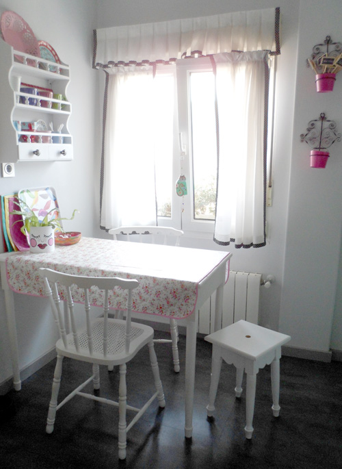 Lalole blog mi cocina para el desafio de blad - Tapar azulejos cocina ...