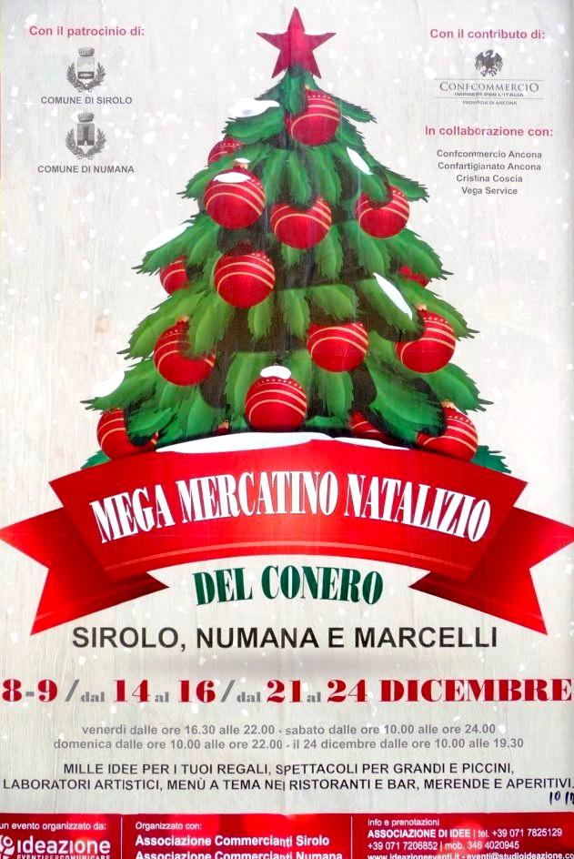 Mega mercatino natalizio Numana Sirolo Marcelli