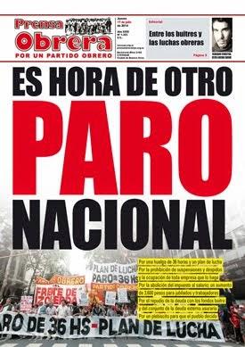 Prensa Obrera